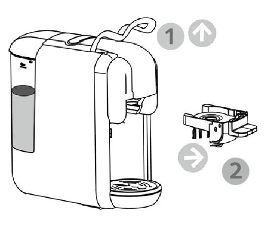 How to Use a AOLGA Capsule Coffee Machine AC-514K